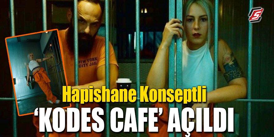 """Hapishane konseptli """"Kodes Cafe"""" açıldı"""