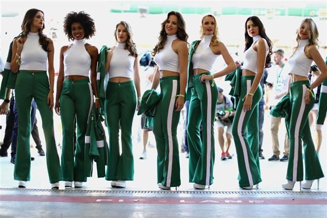 Formula-1 Kızlarına Feminizm engeli 13