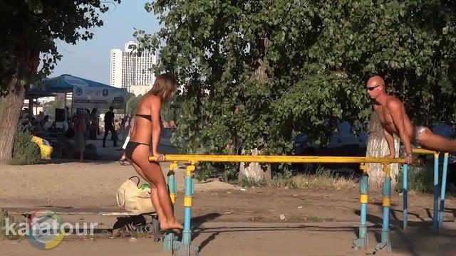 Ukrayna'da yeni bir akım başladı! Vatandaşlar parklara akın etti 17