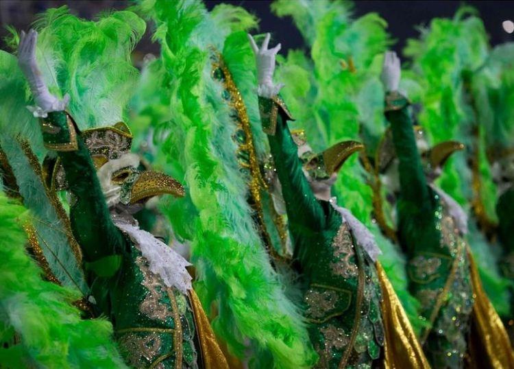 RİO Karnavalından müthiş görüntüler 11