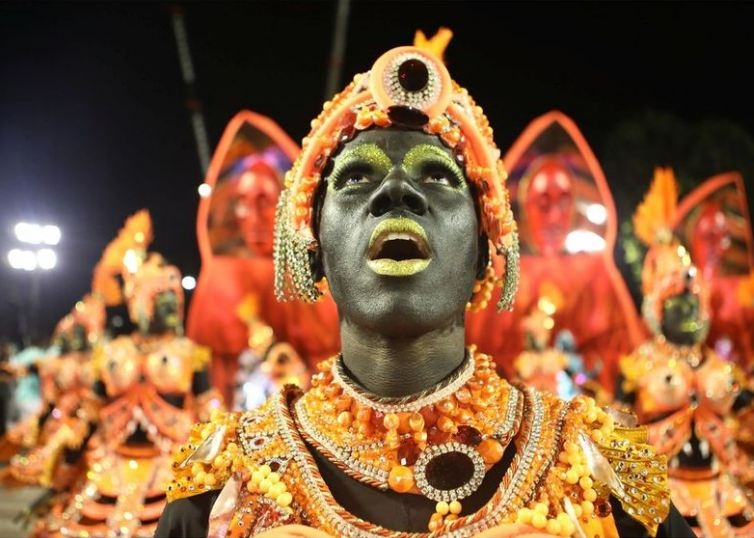 RİO Karnavalından müthiş görüntüler 14