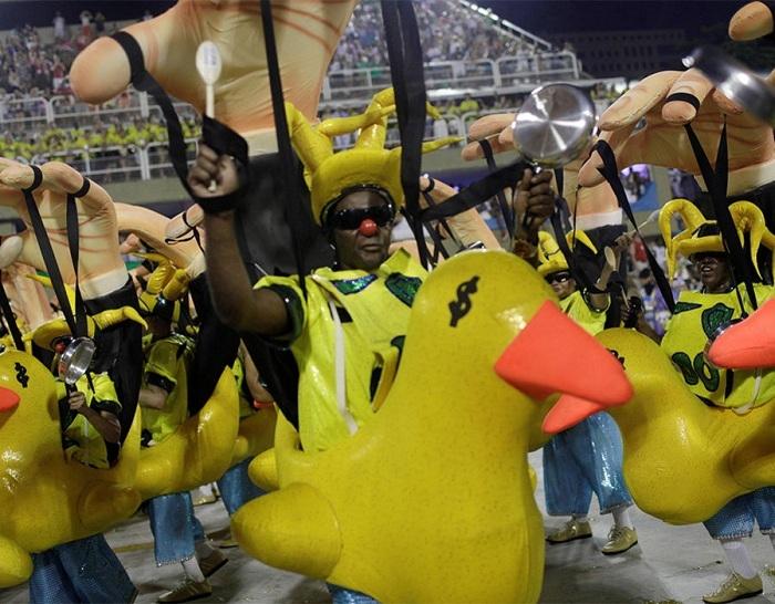 RİO Karnavalından müthiş görüntüler 34