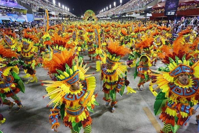 RİO Karnavalından müthiş görüntüler 41