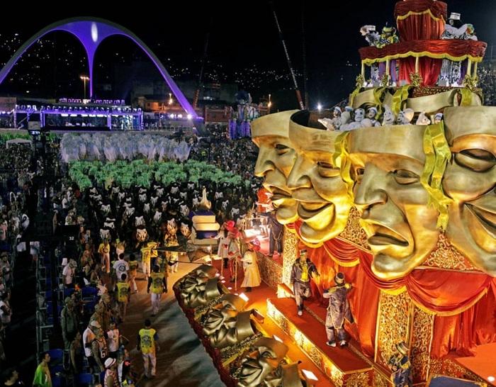 RİO Karnavalından müthiş görüntüler 43