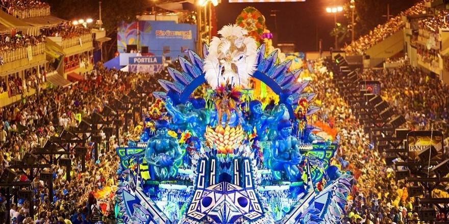RİO Karnavalından müthiş görüntüler