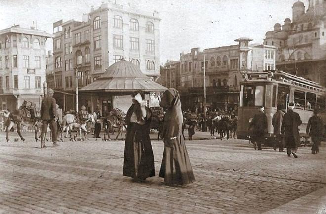 Eski İstanbul'dan muhteşem görüntüler 13