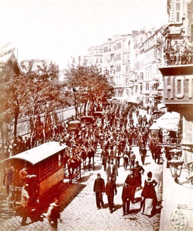Eski İstanbul'dan muhteşem görüntüler 7