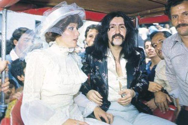 Ünlülerin düğün fotoğrafları 1