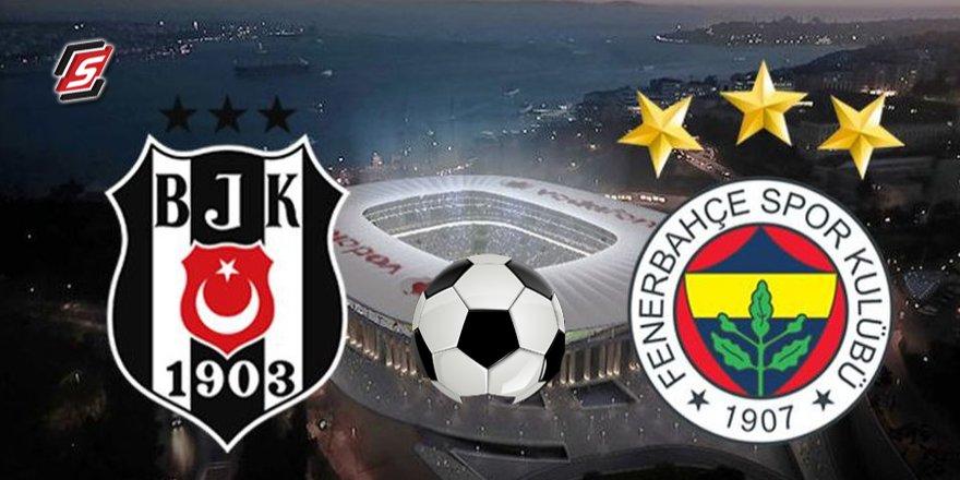 İşte Beşiktaş – Fenerbahçe maçının 11'leri
