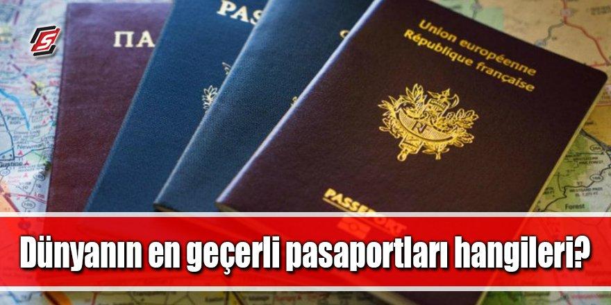 İşte en geçerli pasaportlar! Türkiye kaçıncı sırada?