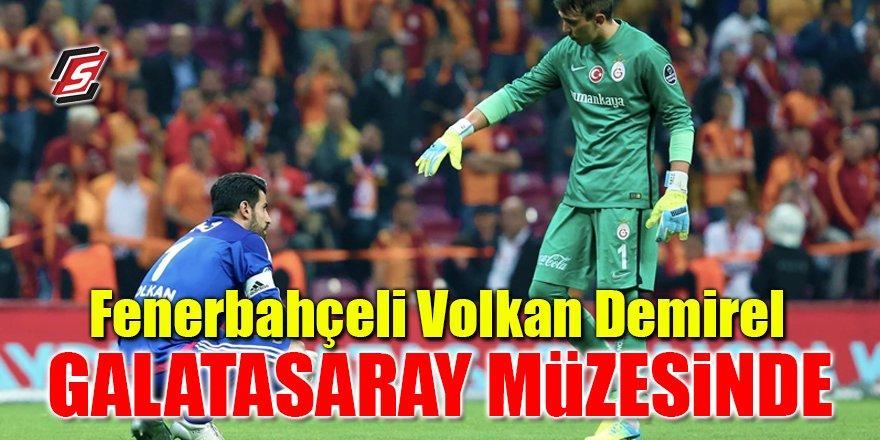 Fenerbahçeli Volkan Demirel Galatasaray Müzesinde