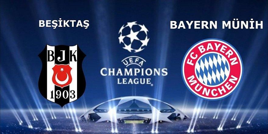 İşte Beşiktaş - Bayern Münih maçı ilk 11'leri