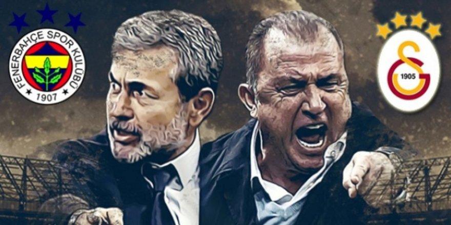İşte Fenerbahçe – Galatasaray maçı ilk 11'leri