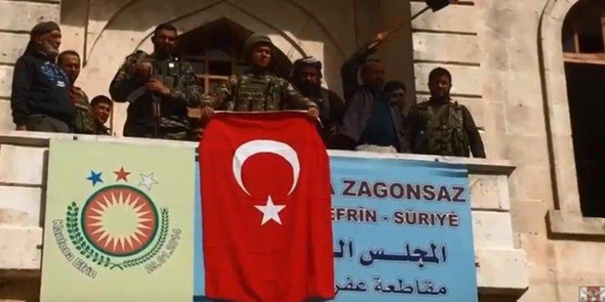 Türk Ordusu Afrin'de destan yazdı! İşte o kareler