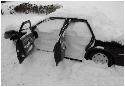 En komik kış fotoğrafları 12
