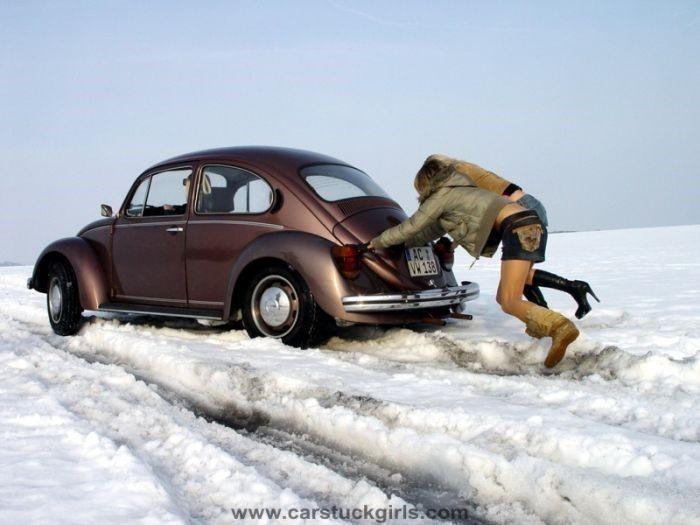 En komik kış fotoğrafları 3