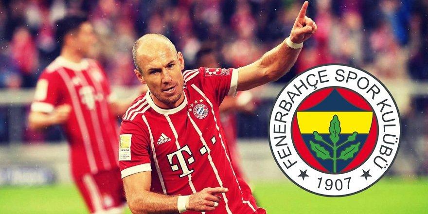 Fenerbahçe'den Robben'e flaş teklif