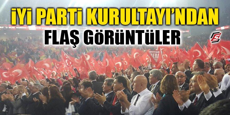 İYİ Parti Kurultayı'ndan flaş görüntüler