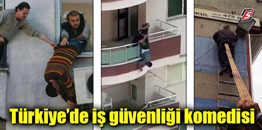Türkiye'de iş güvenliği komedisi 1