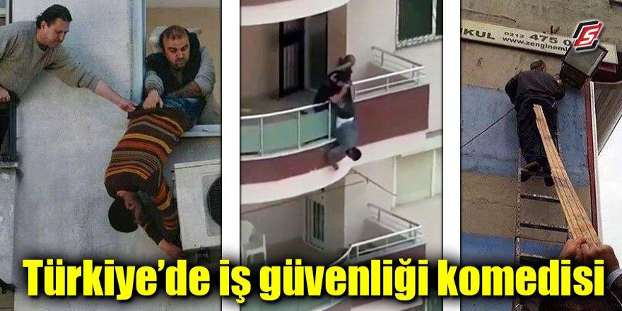 Türkiye'de iş güvenliği komedisi