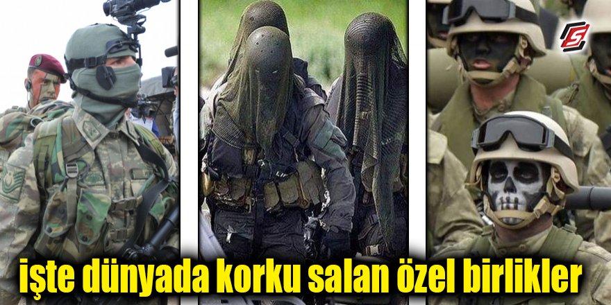 İşte dünyada korku salan özel birlikler