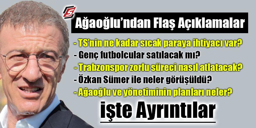 Trabzonspor Başkanı Ağaoğlu Şenol Güneşle görüştü mü? 1