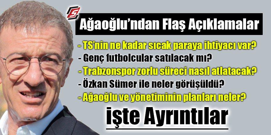 Trabzonspor Başkanı Ağaoğlu Şenol Güneşle görüştü mü?
