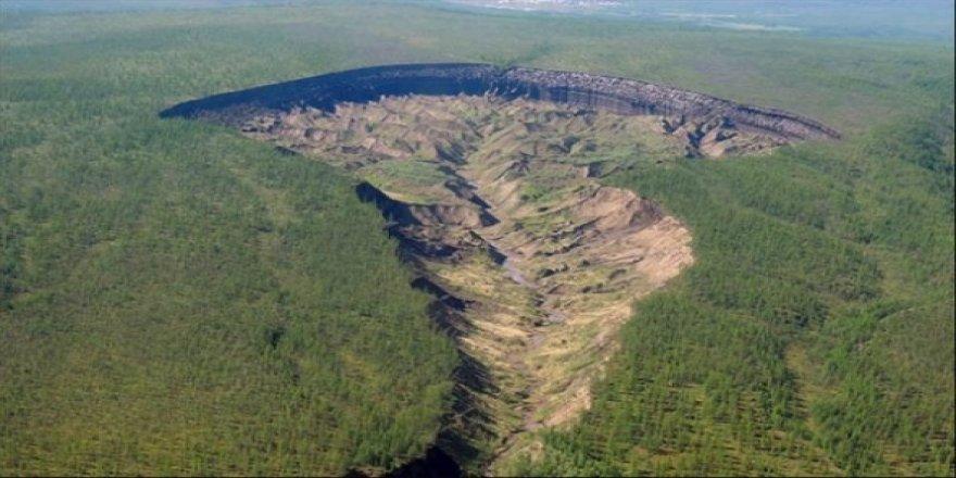 Sırrı çözülemeyen kraterler için bilim insanlarından dehşet senaryo