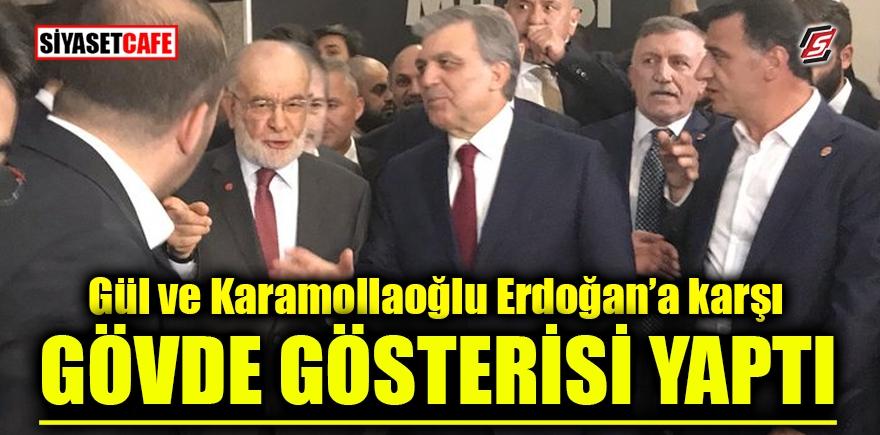 Gül ve Karamollaoğlu, Erdoğan'a karşı gövde gösterisi yaptı 1