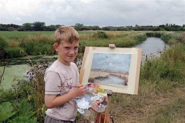 11 Yaşında 3 Milyon dolarlık tablo sattı 20