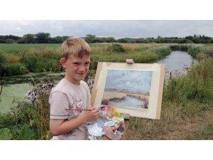 11 Yaşında 3 Milyon dolarlık tablo sattı