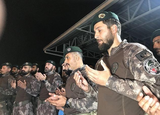 Afrin kahramanı PÖH'ler böyle karşılandı 11