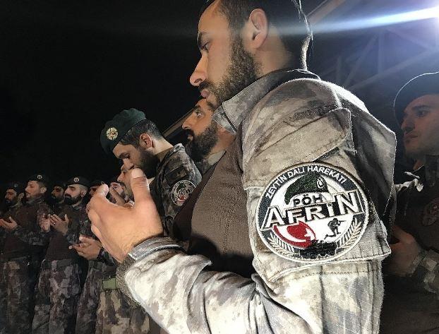 Afrin kahramanı PÖH'ler böyle karşılandı 13
