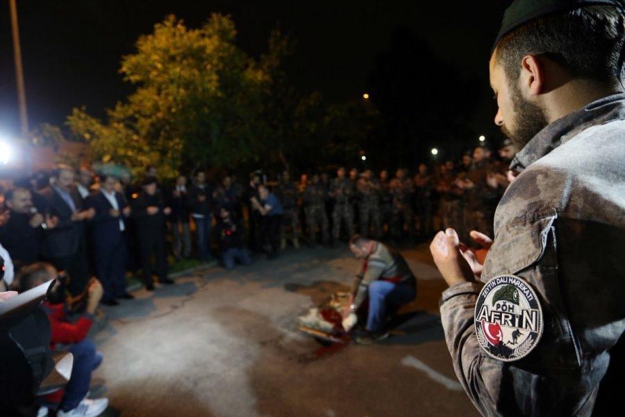 Afrin kahramanı PÖH'ler böyle karşılandı 16
