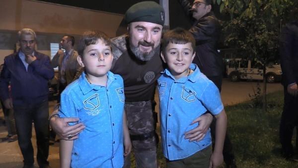 Afrin kahramanı PÖH'ler böyle karşılandı 20