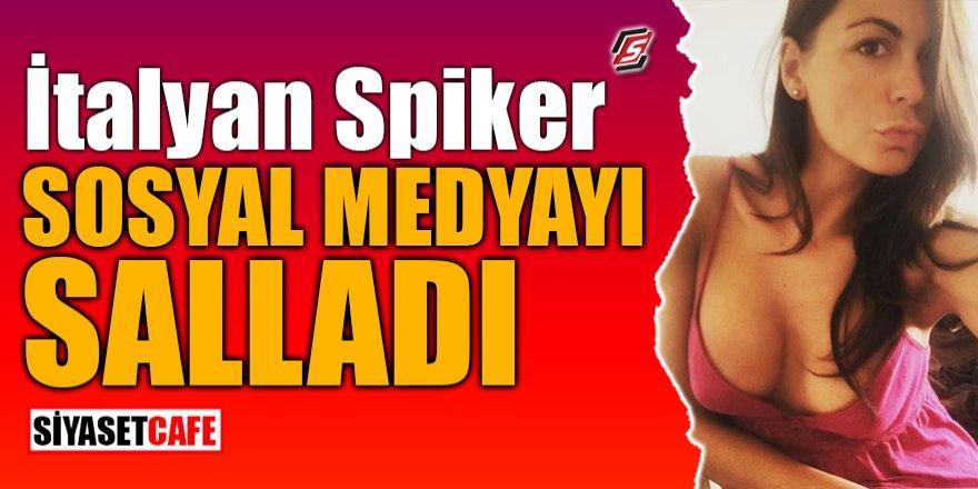 İtalyan spiker sosyal medyayı salladı