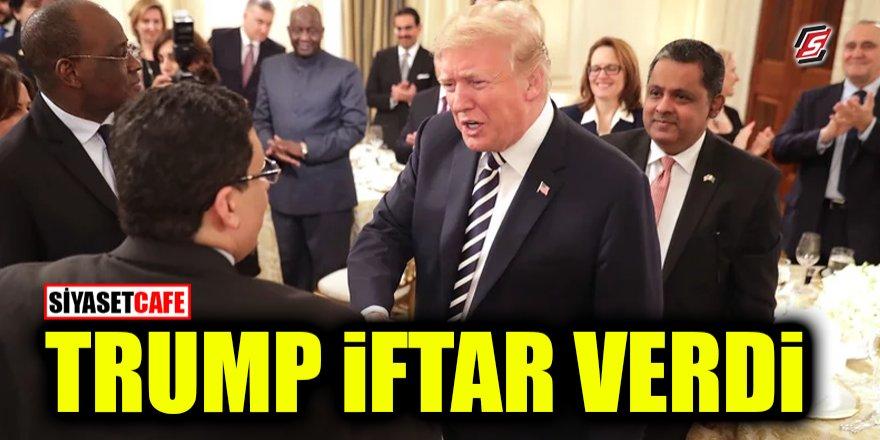 Donald Trump ilk iftarını verdi