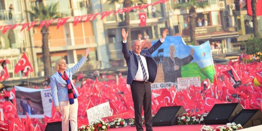 Muharrem İnce'nin İzmir mitingine kaç kişi katıldı?