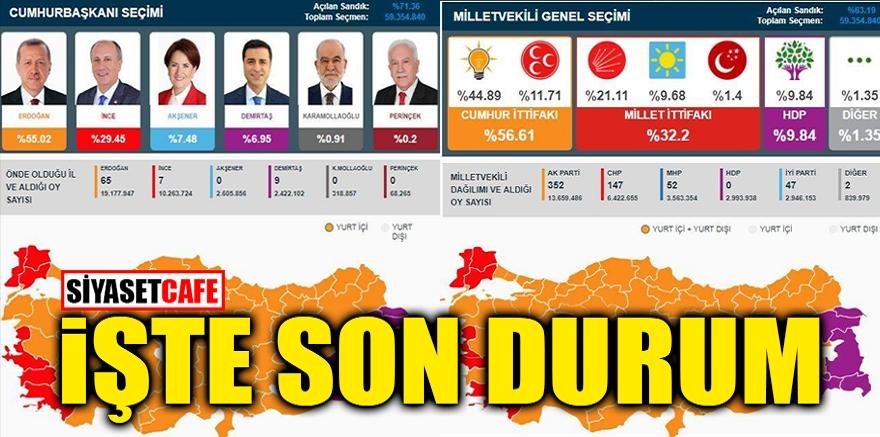 Türkiye'nin seçiminden an be an sonuçlar! 1