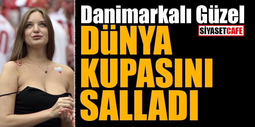 Danimarkalı güzel Dünya kupasını salladı 1