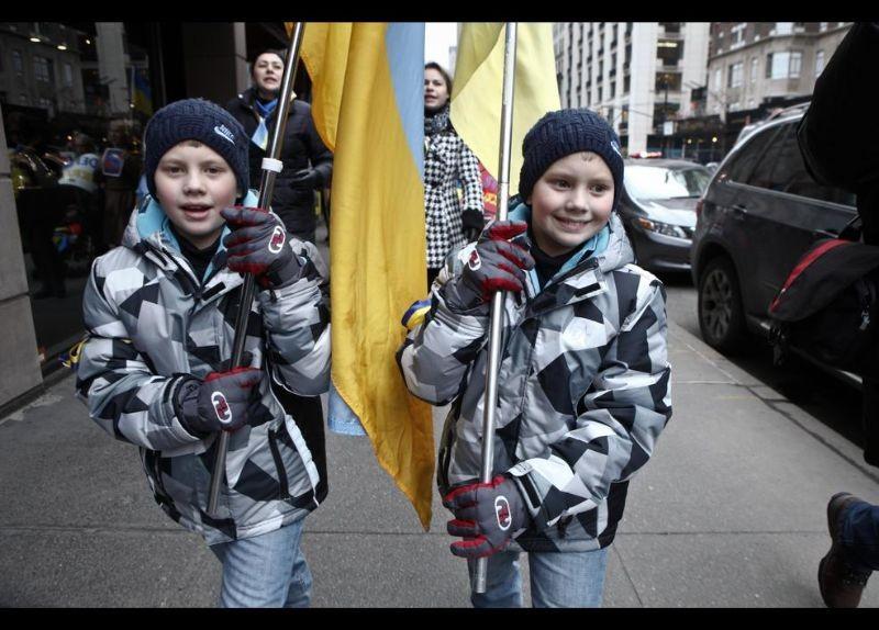 Kırım Türkleri ABD'de Rusya'yı Protesto etti 6