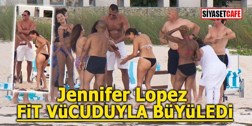 Jennifer Lopez fit vücuduyla büyüledi
