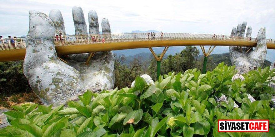 Yer ile gök arasında: Vietnam'daki Altın Köprü