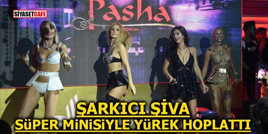 Genç şarkıcı Şiva süper minisiyle yürek hoplattı