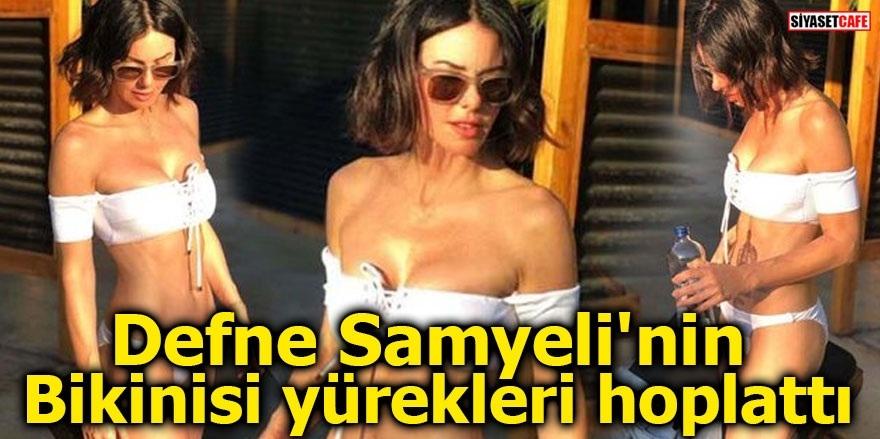 Defne Samyeli'nin bikinisi yürekleri hoplattı 1