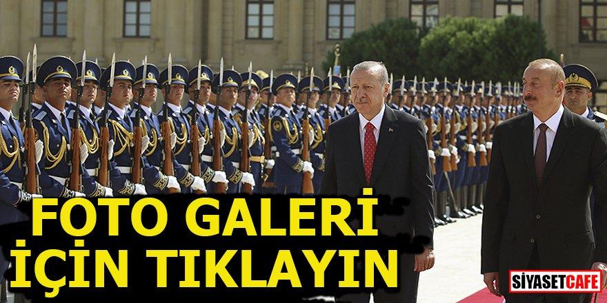 Erdoğan Bakü'nün kurtuluşunun 100. yıl dönümünde Azerbaycan'da