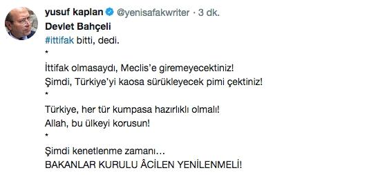 Bahçeli'nin çıkışı AK Partileri 'Çok mutlu' etti! Türk dü 1