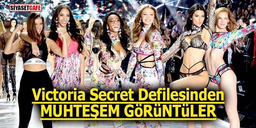 Victoria Secret defilesinden muhteşem görüntüler 1