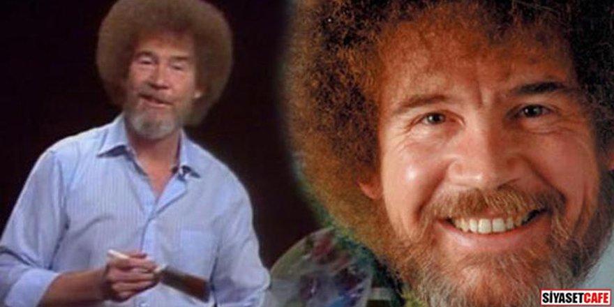 'Ressam Amca' olarak tanıdığımız Bob Ross ressam değilmiş