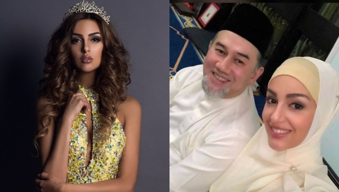 Taçlı Rus güzel Malezya Kralı ile evlendi! Müslüman oldu 1